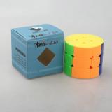 Cube Twist Cylinder Type 3x3x3 Magic Cube - Colorful