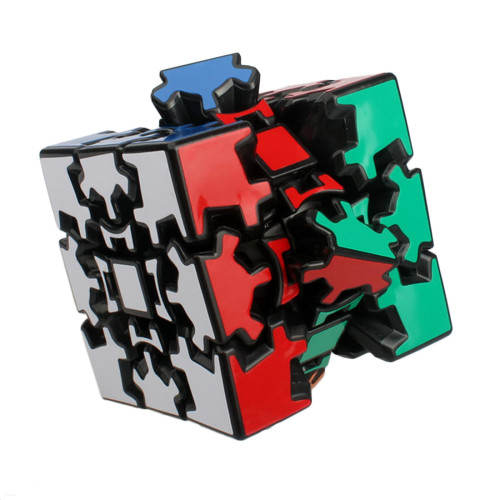 X-cube Gear CubeⅠ3D 3x3x3 Magic Cube 6cm - Black