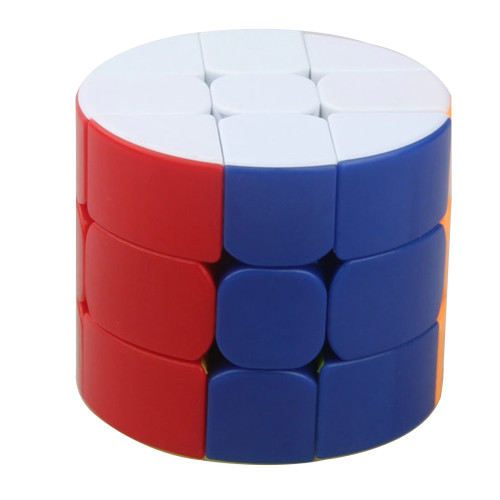Cube Twist Cylinder Type 3x3x3 Magic Cube - Colorful