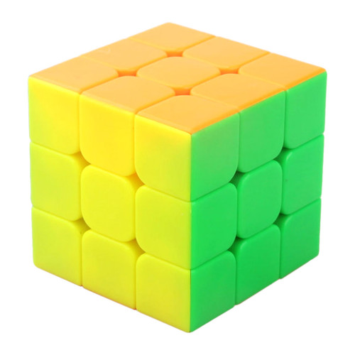 YJ RuiLong 3x3 Magic Cube- Colorful