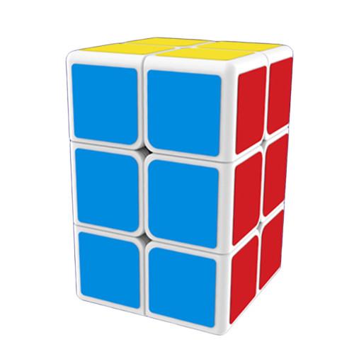 Mofangge 2x2x3 Magic Cube Smooth Creative Puzzle - White-based