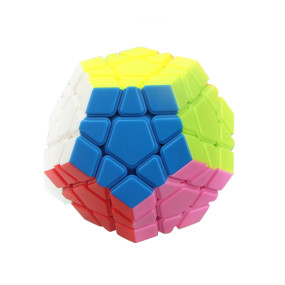 YJ RuiHu Five Special-shaped Magic Cube Educational Toys for Brain Trainning - Colorful