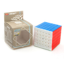 YJ RuiShi 6x6 Magic Cube Educational Toys for Brain Trainning - Colorful