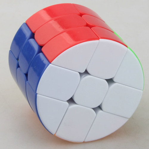 Cube Twist Cylinder Type 3x3 Magic Cube - Colorful