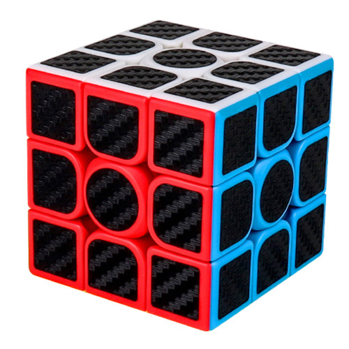 MFJS Carbon Fiber Meilong3 3x3 Magic Cube