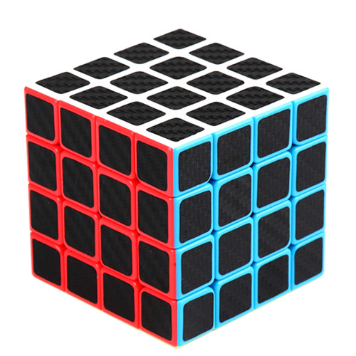 MFJS Carbon Fiber Meilong4 4x4 Magic Cube