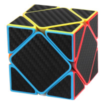 MFJS Carbon Fiber Meilong Skewcube Magic Cube