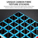MFJS Carbon Fiber Meilong 3x3 Magic Cube