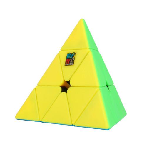 MFJS MeiLong Pyramid Magic Cube Puzzle Cube - Stickerless