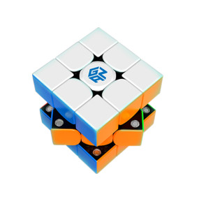 GAN356 X 3x3 M Removable Magic Cube (IPG V5) (Upgrade+Cube Lubricants / Magnetic)