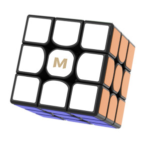 Upgrade YJ MGC3 Elite 3 x 3 Magic Cube - Stickerless/Black