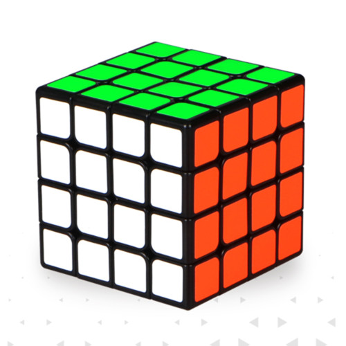QiYi Thunderclap 4 x 4 Mini Magic Cube - White/Black