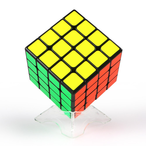 QiYi WuQue Mini 4 x 4 Magic Cube - Black