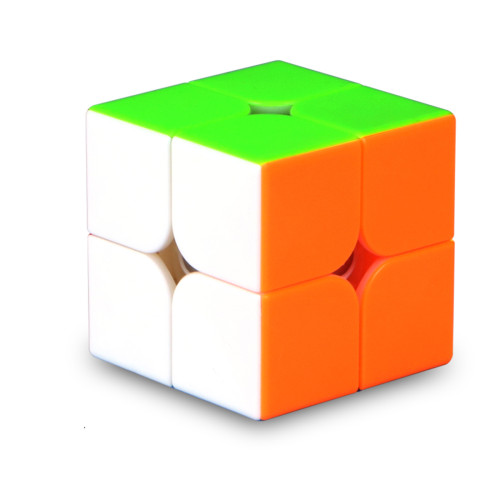 QiYi Wuxia 2 x 2 M Magic Cube - Black/Stickerless