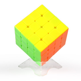 Upgrade QiYi WuQue Mini 4 x 4 Magnetic Magic Cube - Black
