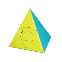 QiYi Pyraminxcube Magic Cube - Stickerless