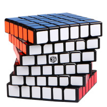 Upgrade Qiyi Mofangge 6x6 Shadow Magic Cube Puzzles (Magnetic)