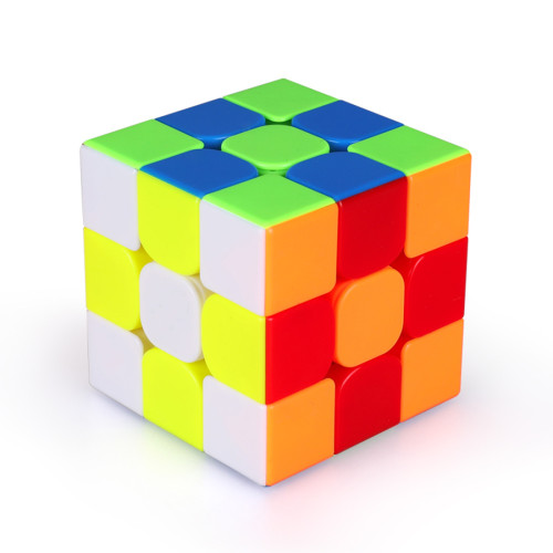 Qiyi 3x3 Magnetic Magic Cube - Black/Stickerless