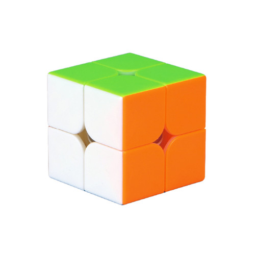 Qiyi 2x2 M Magic Cube - Black/Stickerless