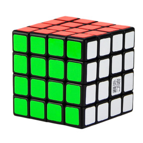Upgrade YJ Yusu 4x4 Magic Cube - Stickerless/Black/White
