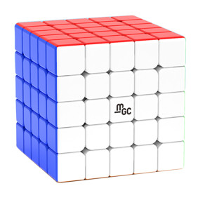 Upgrade YJ MGC 5x5 Magic Cube - Stickerless/Black