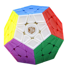 Upgrade Qiyi Galaxy Megaminxcube V2 Magic Cube - Stickerless (Sculpted)