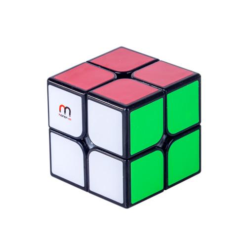 Honor-M Qiyi QiDi 2x2 Magetic Magic Cube - White/Black