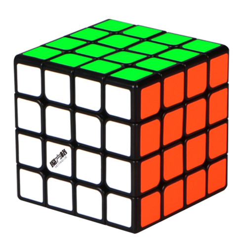 Upgrade YiQi Mofangge Thunder 4x4 M Magic Cube - Black