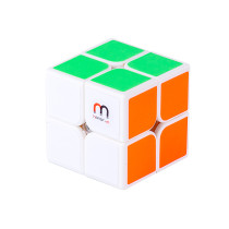 Honor-M Qiyi QiDi 2x2 Magetic Magic Cube - White/Black