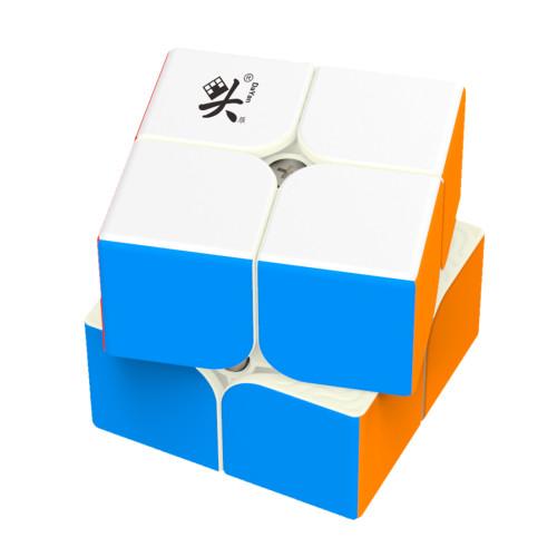 Upgrade Dayan Tengyun 2x2 Magic Cube - Black
