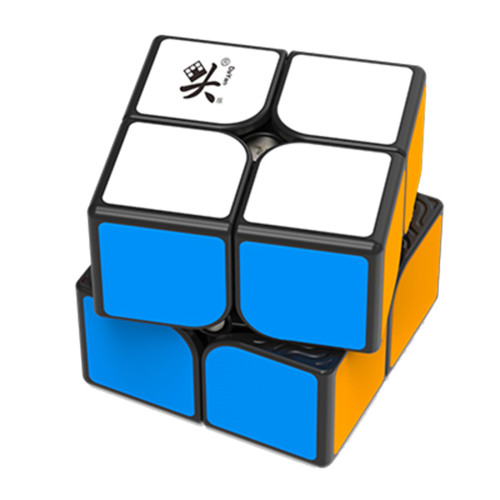 Upgrade Dayan Tengyun 2x2 Magic Cube - Black