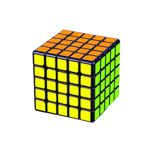 Upgrade Moyu Aochuang GTS 5x5 Magic Cube - Black/Stickerless