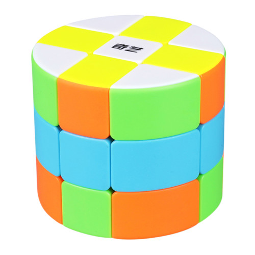 Qiyi Cylinder Magic Cube - Stickerless