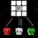 Upgrde+ Cube Lubricants QiYi Valk 3 Elite M Magic Cube - Stickerless/Black