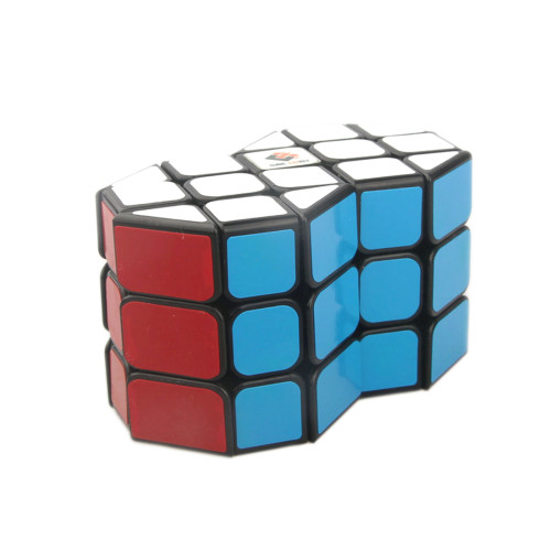 Cube Twist Column Double 3x3 Magic Cube Puzzle Toy