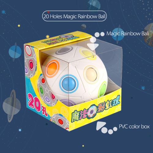 MY8722 12 Holes Magic Rainbow Ball Puzzle Speed Ball Toy