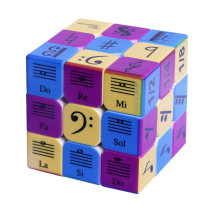 3x3 Music Notes Pattern Magic Cube Speed Cube