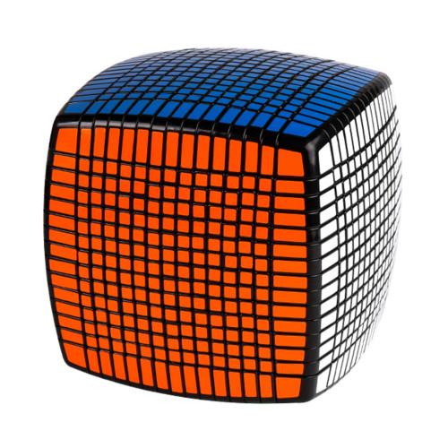 YJ8268 15x15x15 Magic Speed Cube Puzzle - Black