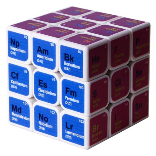 Fangmo UV Chemical 3x3 Magic Cube - White