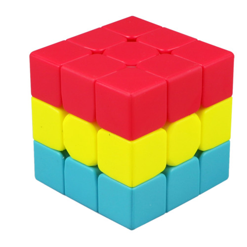 Qiyi Sandwich Magic Cube - Vivid Color