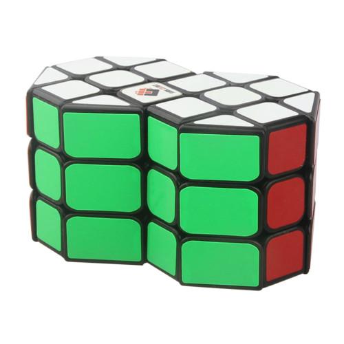 Cube Twist Column Double 3x3 Magic Cube Puzzle Toy