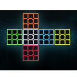 Qiyi Qizheng S 5x5 Stickered Version Magic Cube