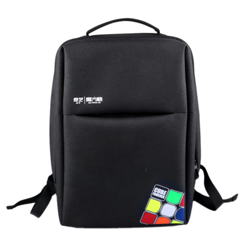 Qiyi Magic Cube Backpack School Shoulder Bag - Black
