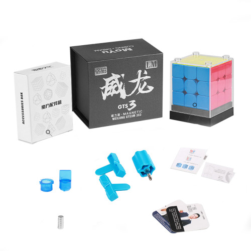 Moyu WeiLong GTS3 LM 3x3 Magic Cube - Stickerless