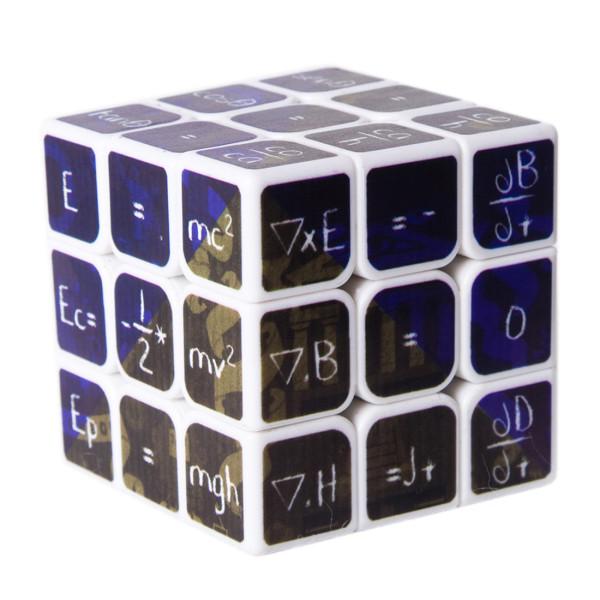 Fangmo UV Chemistry 3x3x3 Magic Cube Educational Toys - Black Bottom