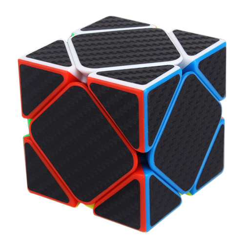 Carbon Fiber Skewcube Magic Cube