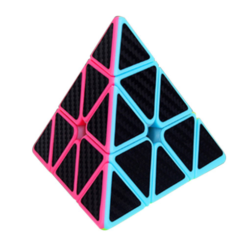 Carbon Fiber Triangle Cube - Stickerless