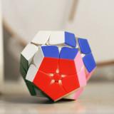 Shengshou Tank 2x2 Magic Cube Megaminxcube - Stickerless