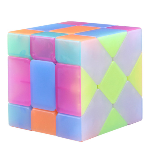 Qiyi Fisher Magic Cube Puzzle Cube - Jelly