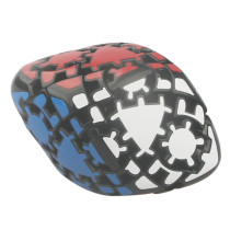 Gear Faceted Magic Cube Puzzle Cube
